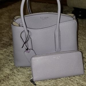kate spade Bags - Lavender Kate Spade Purse and Wallet